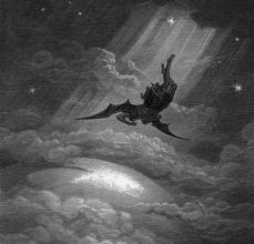Христос возносится, дьявол падает