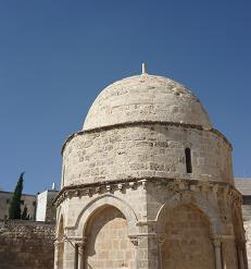 капелла на горе Елеон