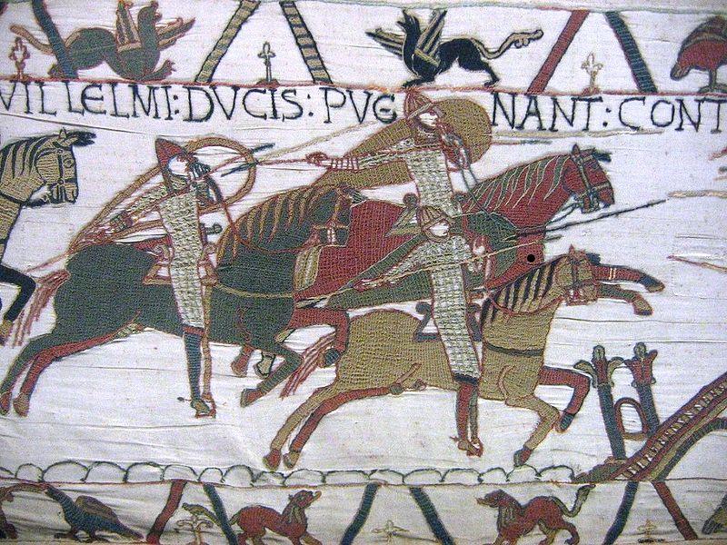 рыцари в битве при Гастингсе
