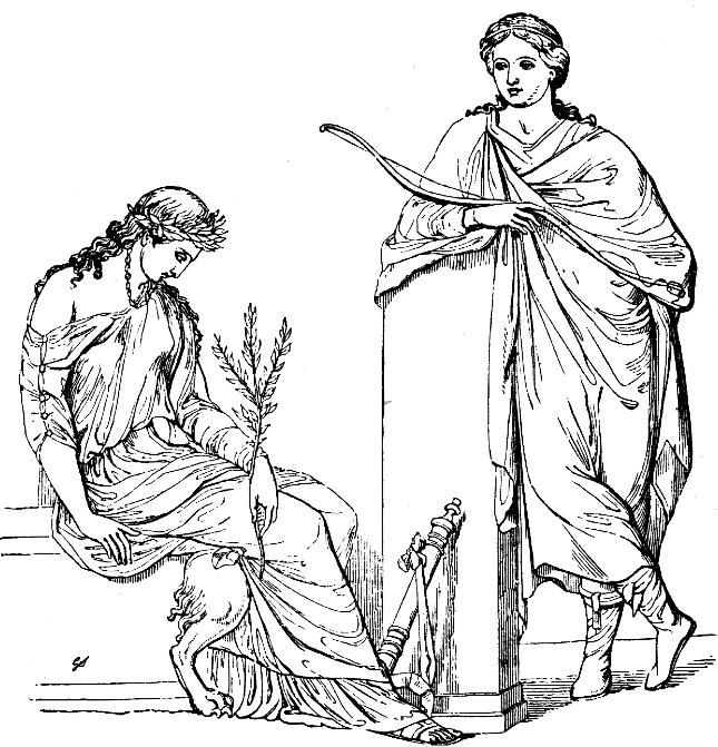 Аполлон и Кассандра лук