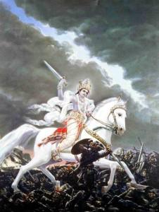 два лика белого бога кришна