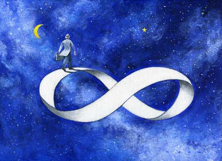 восьмера и бесконечность