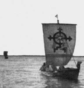 сотворение мира скифского моря русского крест корабль парус