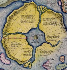 зачем эдгар по приезжал в россию арктида четыре пролива внутр море меркатор