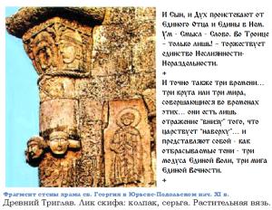 учение о Триглаве храм 11в святой георгий юрий подольский