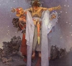 Альфонс Муха БУС БЕЛОЯР о скифском христианстве