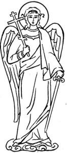 ангел меч крест нераздельное православие