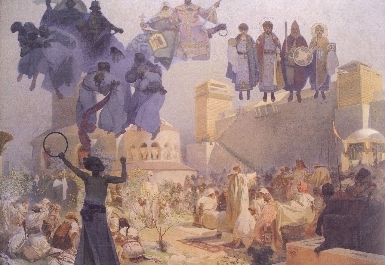 обруч перерождений и Збручский идол